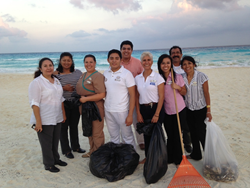 Sunset World Cleanup Beaches