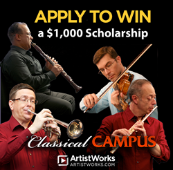 classical music scholarship