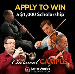 classical music scholarship