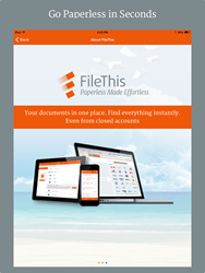 Go Paperless with FileThis for iOS