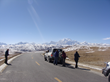 Tourists are traveling from Lhasa to Kathmandu via Sino-Nepal Highway.