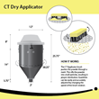CT Dry Applicator