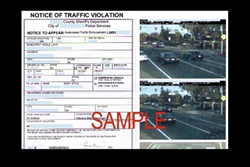 Wonderful Sample Red Light Camera Citation Great Pictures