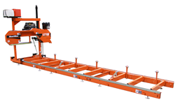 The new Wood-Mizer LT15WIDE manual sawmill