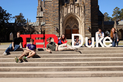 TEDxDUKE event website by Imaginovation