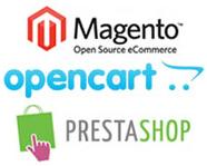 Magento vs OpenCart vs Prestashop