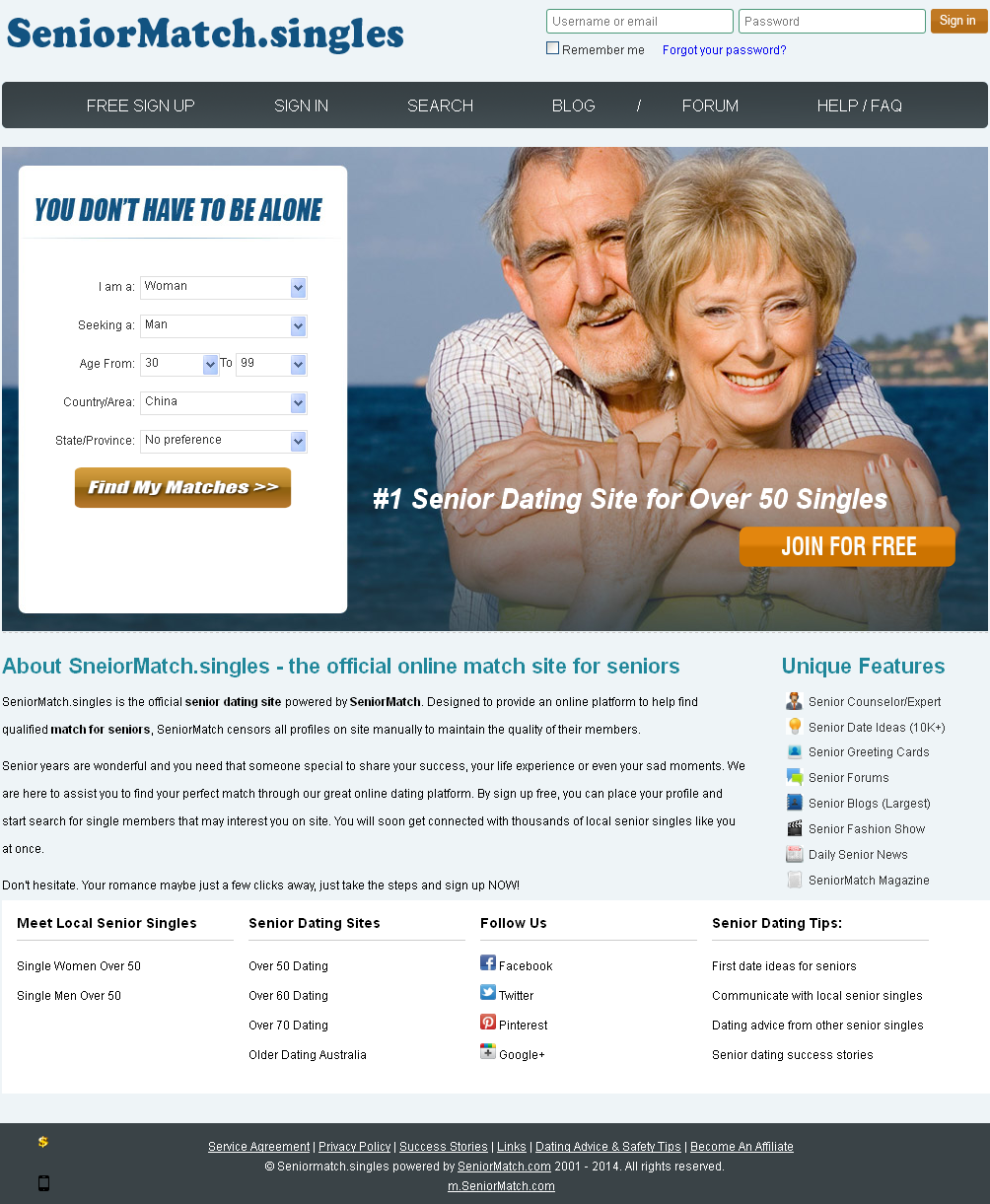 zaraza senior dating site Senior next is, according to industry experts at seniordatingexpertcom, the #4 ranked senior dating site of 2016 be a part of our big community we make it easy to interact with new people, make new friends, send free flirts, and browse other users photos all your profile details are 100% private and safe.