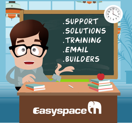 easyspace offers domain registration, web hosting packages, email services and server solutions.