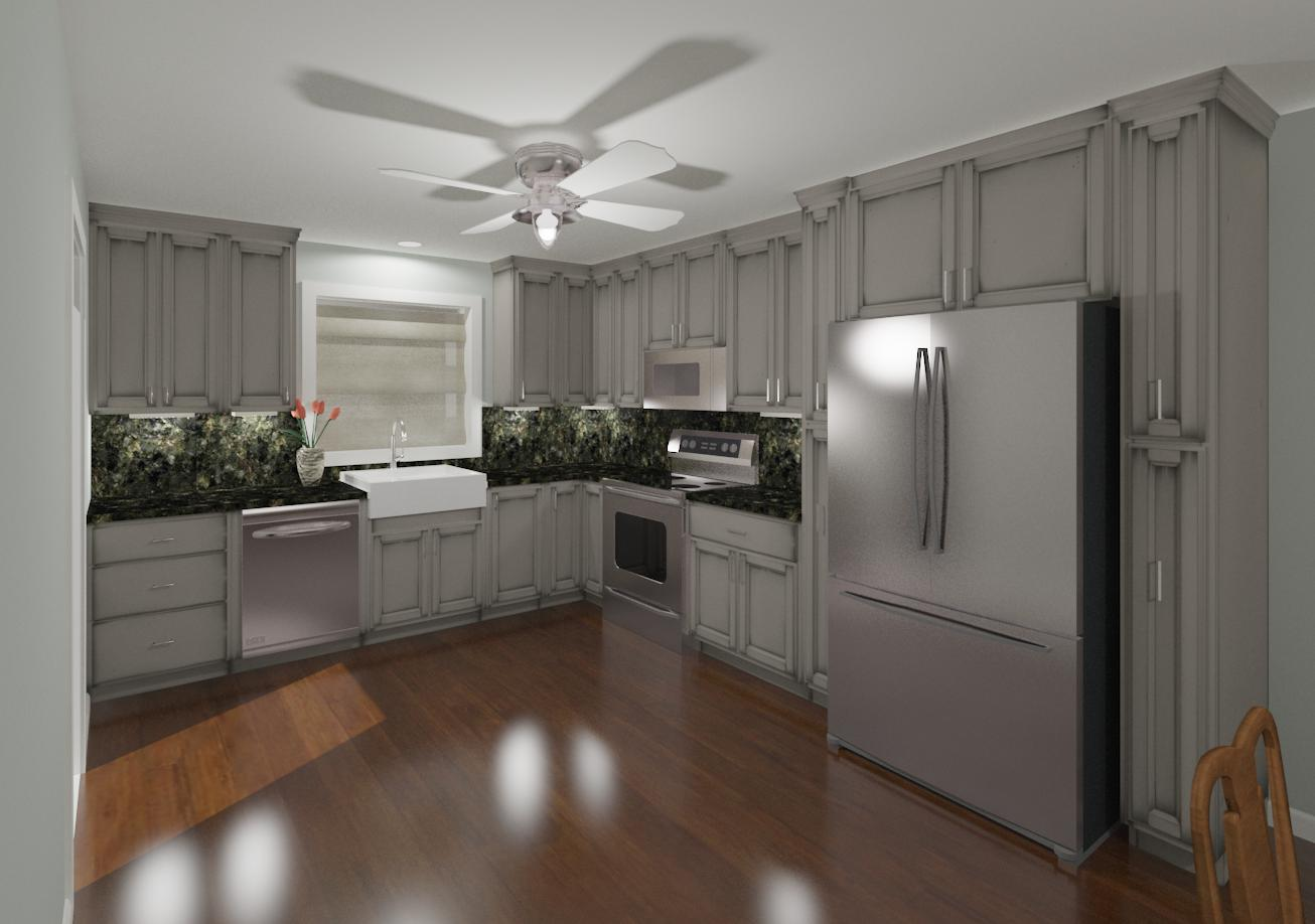 Hatchett Design Remodel Recently Implemented 3d Model Imaging To Help Clients Make Kitchen