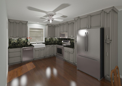 Hatchett Design Remodel 3D Kitchen Image
