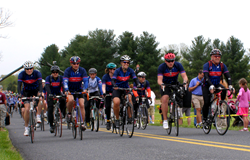 Team Booz Allen Hamilton arrives in Gettysburg, Pennsylvania in 2013.