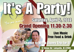 April 5th, 2014 Grand Opening Lafayette, Indiana AlignLife