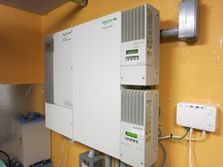 Schneider Electric Inverter used in Peak Load Shaving