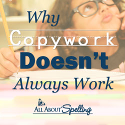 All About Spelling, homeschool curriculum, copywork, multisensory, Marie Rippel