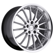 Jaguar Wheels by Coventry - the Whitley in Silver