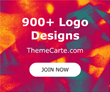 Frustrated finding a logo you like?  Look no more.  ThemeCarte.com has 900+ Ready-made logos!