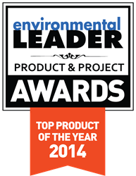 Environmental Leader 2014 Product of the Year Award Winner