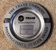 Trane Distinguished Dealer Award 2013