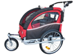 Booyah's Red Baby Bike Trailer & Stroller