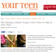 Your Teen Magazine for Parents Covers the Hookup Culture of Today's...