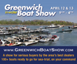 Greenwich Boat Show is this weekend 4/12 & 4/13, 9am-4pm