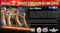 cigars, fda cigar regulations, tommy zman, smokers rights, cra, famous smoke shop