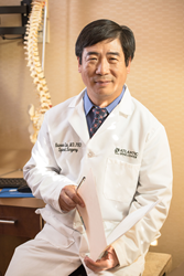 Dr. Liu, President of Atlantic Spine Center