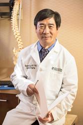 Dr. Liu, President of Atlantic Spine Center