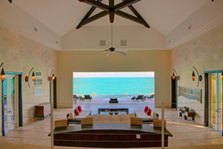 caribbean ocean front villa for sales in Turks and Caicos
