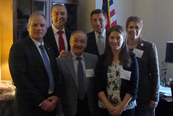 NPI volunteers from several states visited Congressional offices including that of Rep. John Mica (R-Florida; third from right) to urge support for legislation related to photonics technologies.