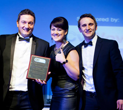 Blue Octopus wins Onrec Award