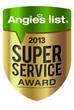 Nova Exteriors Achieves 2013 Angie's List Super Service Award