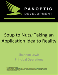 ebook - Soup to Nuts: Taking an Application Idea to Reality.