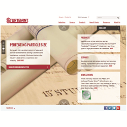 Sturtevant launches new website with extensive online product information
