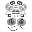 Summit Racing Full Wheel Front Drum-to-Disc Brake Conversion Kit