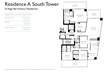 St Regis Bal Harbour Residences Residence A South Tower Floorplan