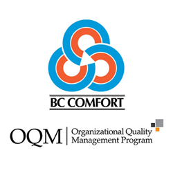 BC Comfort OQM certification design build vancouver