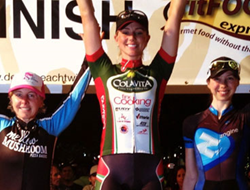 Erica Allar 1st Place Criterium Race Delray Beach Twilight 2014