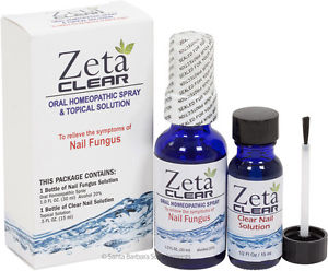 Zeta Clear The Clinically Proven Highly Effective Nail Fungus