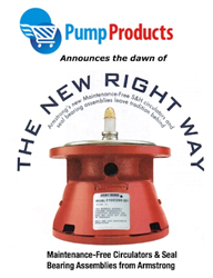 Pump Products Now Stocking Armstrong Maintenance-Free Circulator Pumps and Seal Bearing Assemblies