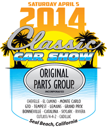 Original Parts Group 2014 Classic Car Show