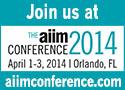 AIIM Conference 2014