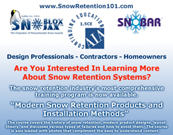 snow retention online course