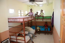 Haiti beds donated by NRI Project 7 and Kelowna Dentist Jonathan Visscher