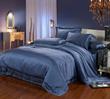 22MM Silk Bedding Ocean Blue