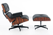 Rove Eames Style Lounge Chair with Ottoman