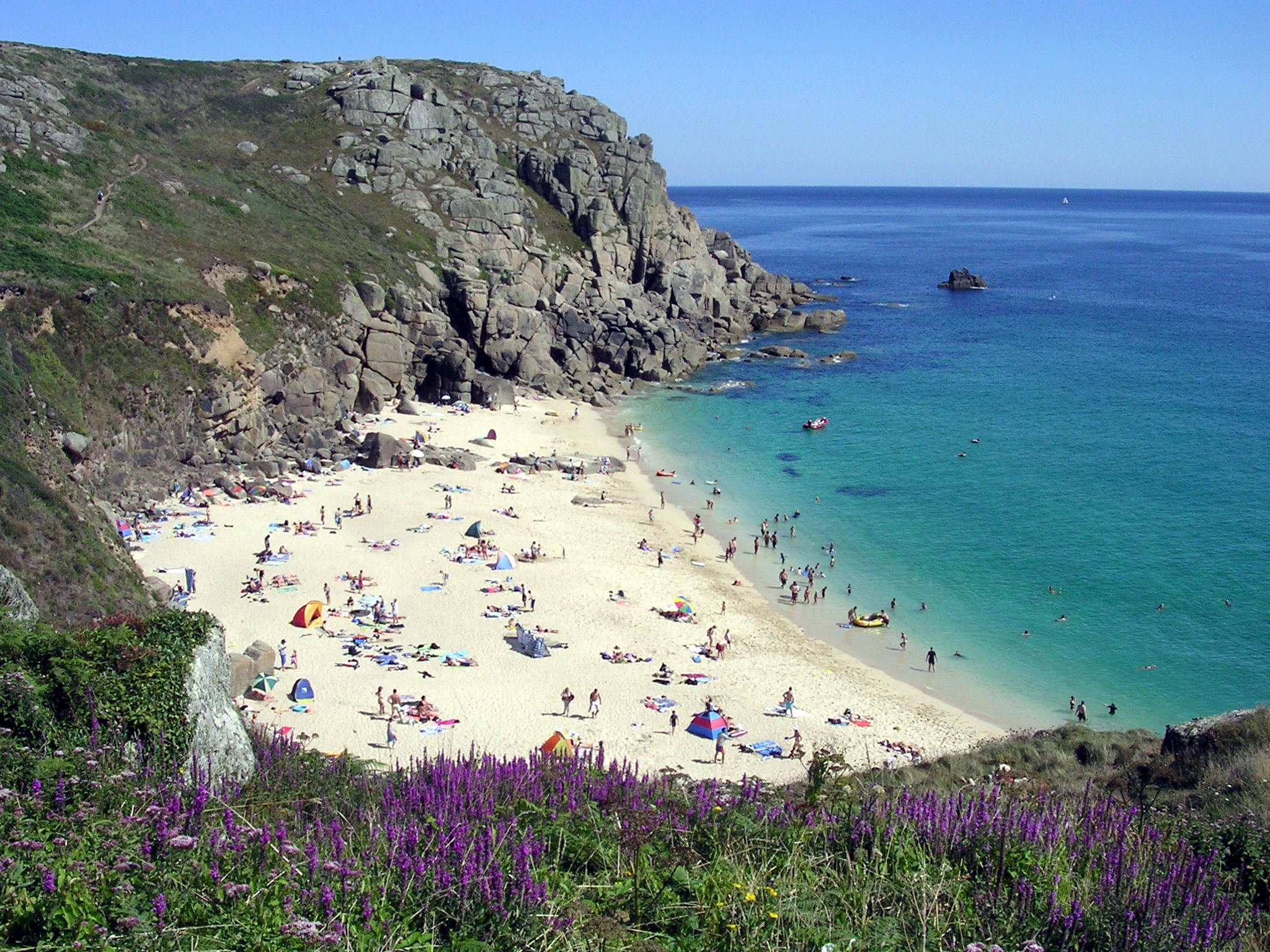 Cornwall in england makes top 10 vacation destinations for Best beach travel destinations