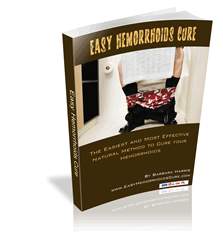 easy hemorrhoids cure ebook