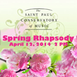 The Saint Paul Conservatory of Music Announces Upcoming April Events