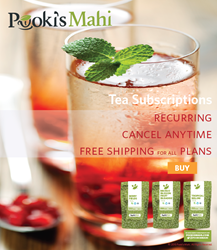 Pooki's Mahi's Award-Winning Tea Subscriptions BUY @ http://subscriptions.pookismahi.com/collections/tea-subscriptions